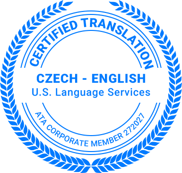 Certified Czech Translation
