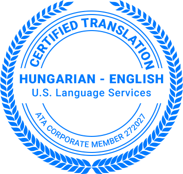 Certified Hungarian Translation