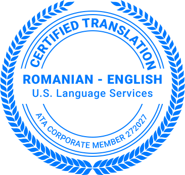 Certified Romanian Translation