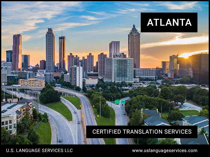 Certified Translation Services in Atlanta, GA