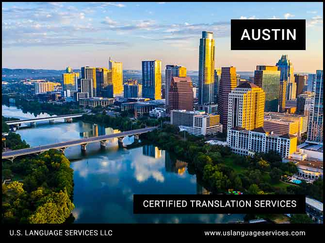 Certified Translation Services in Austin, TX