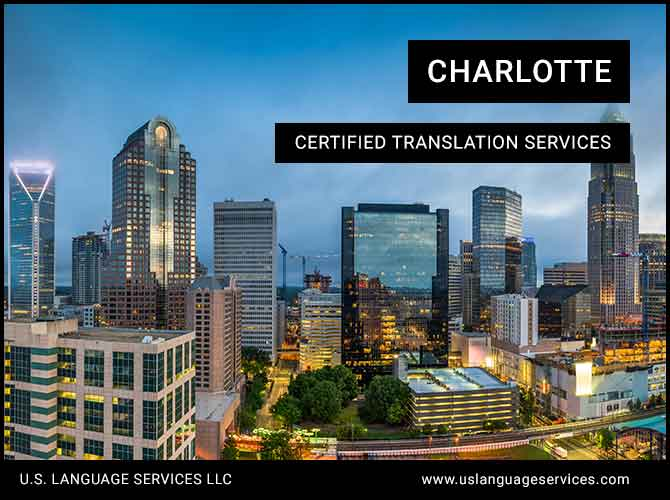 Certified Translation Services in Charlotte, NC