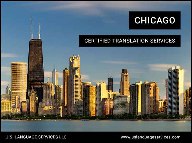 Certified Translation Services in Chicago, IL