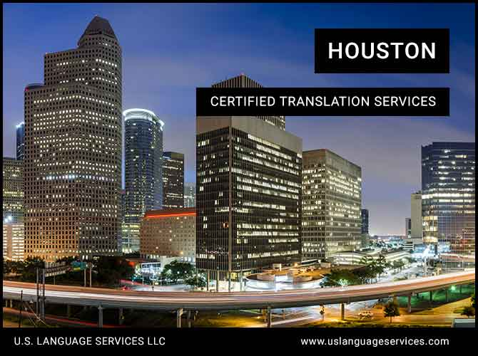 Certified Translation Services in Houston, TX