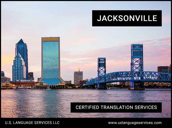 Certified Translation Services in Jacksonville, FL