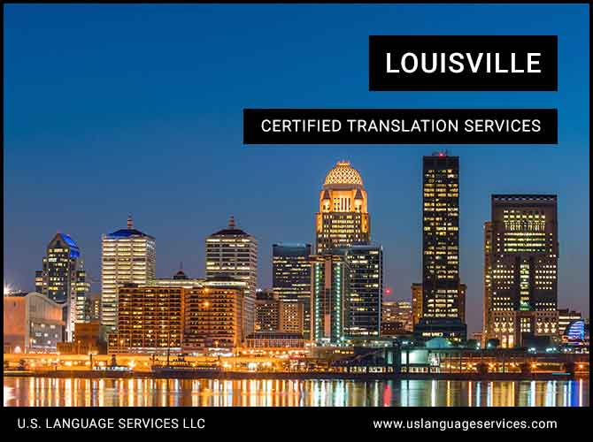 Certified Translation Services in Louisville, KY