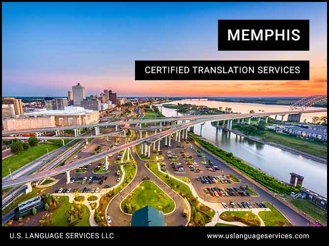 Certified Translation Services in Memphis, TN