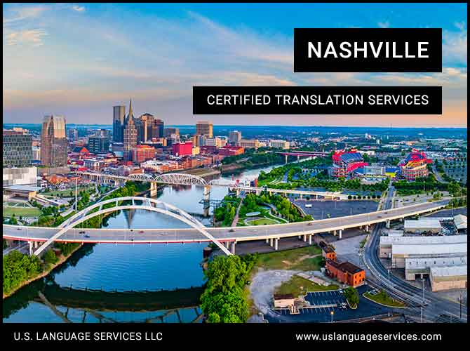 Certified Translation Services in Nashville, TN