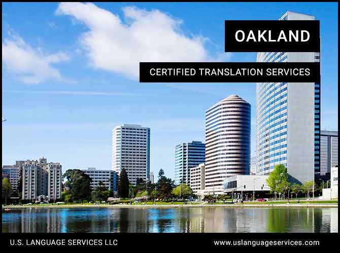 Certified Translation Services in Oakland, CA