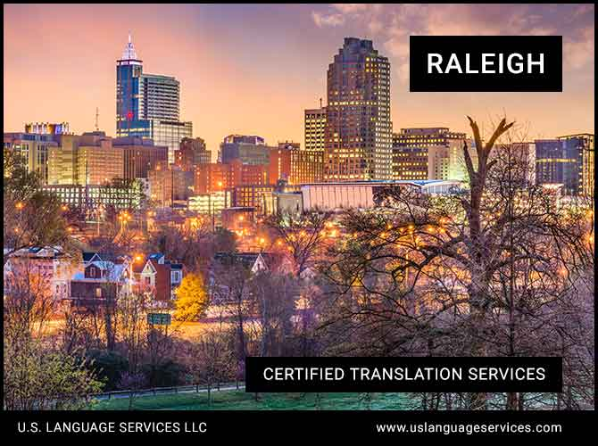 Certified Translation Services in Raleigh, NC