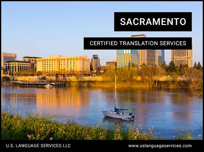Certified Translation Services in Sacramento, CA