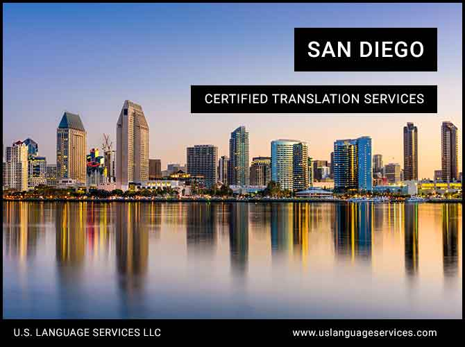 Certified Translation Services in San Diego, CA