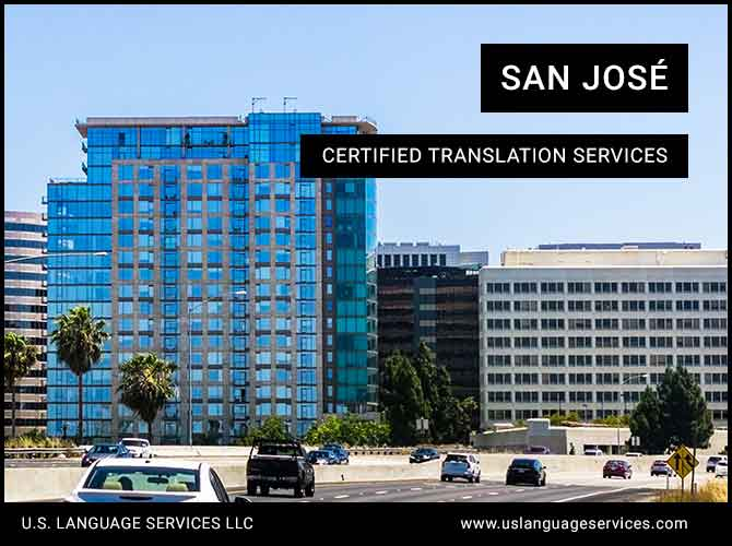 Certified Translation Services in San José, CA