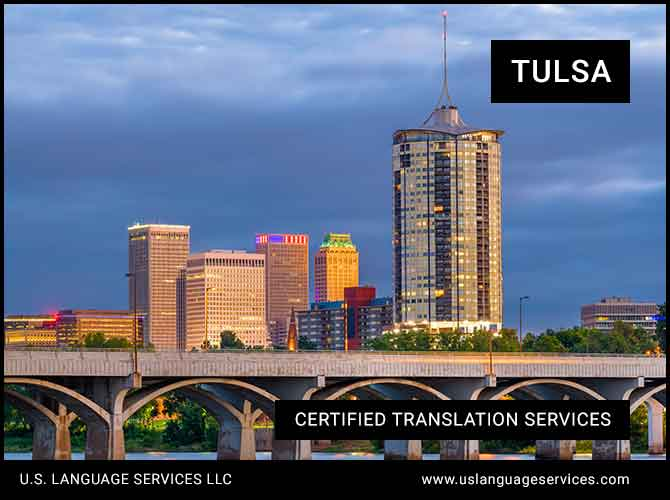 Certified Translation Services in Tulsa, OK